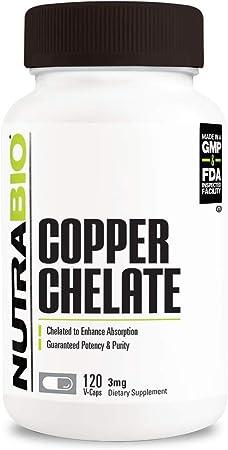 NutraBio Copper Chelate