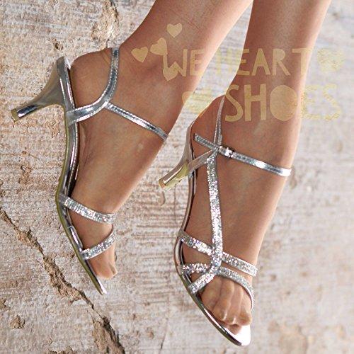 Alla Caviglia Silver Strap Krasceva Donna 4P5WqwXR