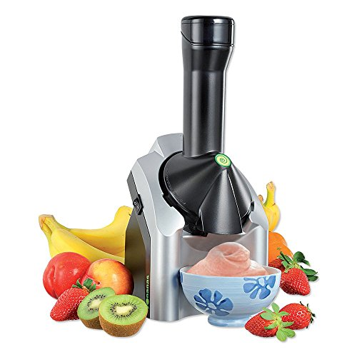 Yonanas 901 Deluxe Ice Cream Treat Maker Bundle, Silver [Discontinued]