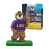 NCAA LSU Tigers Mike the Tiger Mascot Gen 2 Mini Figure, Small, Black