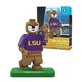 NCAA LSU Tigers Mike the Tiger Mascot Gen 2 Mini Figure, Small, Black