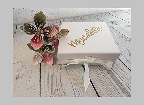 Personalised Bridesmaid Gift Box Amazon Co Uk Handmade