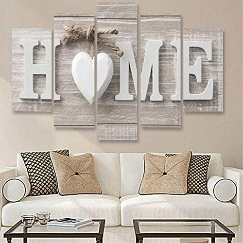 Xuprie Home Wooden Home Letter Prints Photo Paintings Wall Art for Home Decorations Paintings / Xuprie Home Wooden Home Letter Prints Photo Paintings Wall Art for Home Decorations Paintings