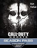 Call of Duty Ghosts Season Pass Card - Playstation 4 & Playstation 3