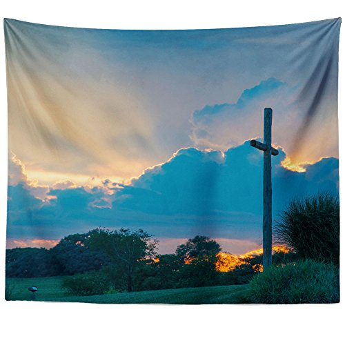 Westlake Art Wall Hanging Tapestry - Cloud Sunset - Photography Home Decor Living Room - 68x80in (a81z)