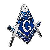 Masonic Square & Compass Car Metal Auto Emblem