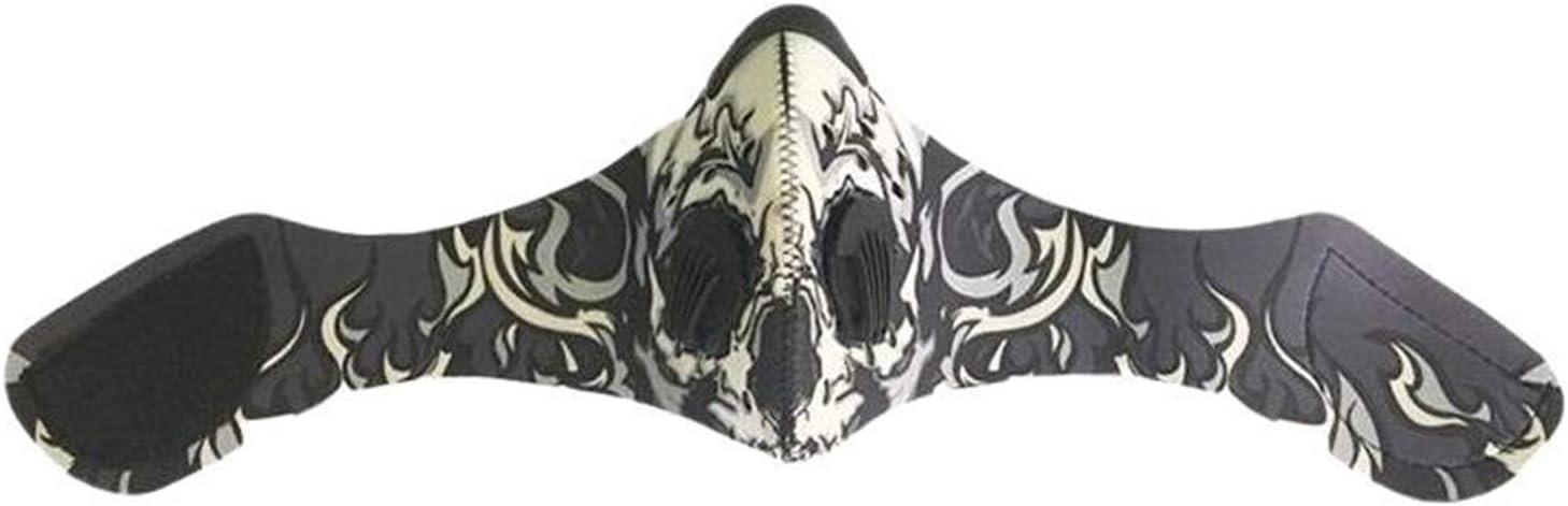 NOBRAND Cómoda máscara 4pc Deportes A Prueba De Viento Filtros A Prueba De Polvo Montar Al Aire Libre Antiniebla Carbón Activado Carcasa Facial Antipolución Máscaras Transpirables