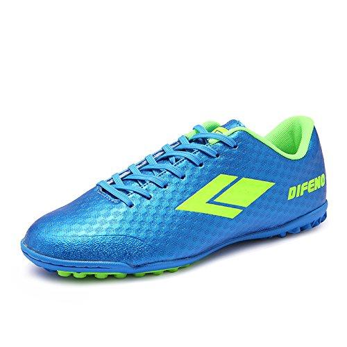 Xing Lin Zapatos De Fútbol Nuevo Estilo De Verano Zapatos De Fútbol Zapatos De Fútbol Los Hijos Varones Uñas Rotas En El Entrenamiento De Estudiantes Transpirable Zapatos Zapatos Deportivos Sky blue