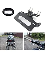 KIILING Rear Tail Tidy License Plate Fender Eliminator kit Compatible with Yamaha MT07 MT-07 FZ-07 FZ07 2014 2015 2016 2017 2018 2019 2020 2021
