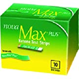 Nova Max Ketone Test Strips - Case of 180 Strips - SAN48607_CS