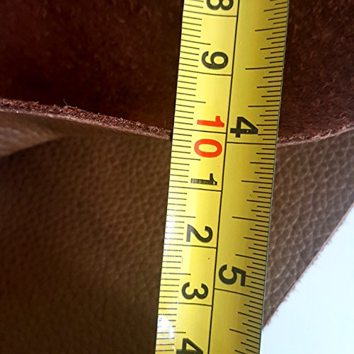 Real leather cow hides leather craft pieces 2 sizes and for Leather sheets for crafting