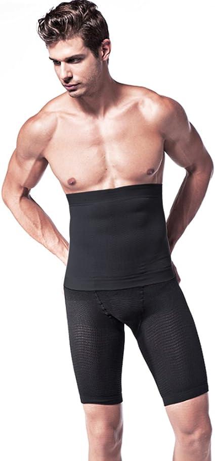 la bi/ère Ceinture ventrale Compression Ceinture Messieurs Slimmer Belt Ceinture abdominale Ceinture de sudation pour le ventre favorise le.