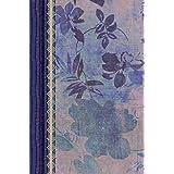 RVR 1960 Biblia de Estudio para Mujeres, azul floreado tela impresa (Spanish Edition)