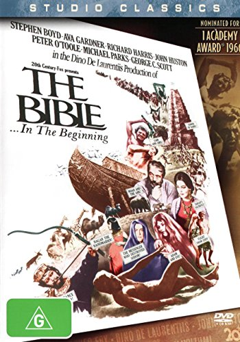 The Bible In The Beginning | John Huston's | NON-USA Format | PAL | Region 4 Import - Australia