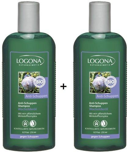 Logona Anti Schuppen Shampoo Wacholder 2x 250 ml im Doppelpack