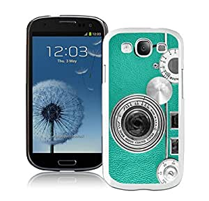 BINGO Seasons Teal Retro Vintage Phone Samsung Galaxy S3 i9300 Case White Cover