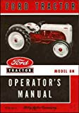 Operator's Manual Ford Tractor Model 8N