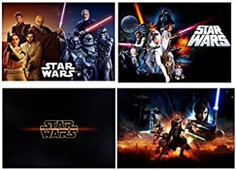 Set of 4 Placemats Star Wars