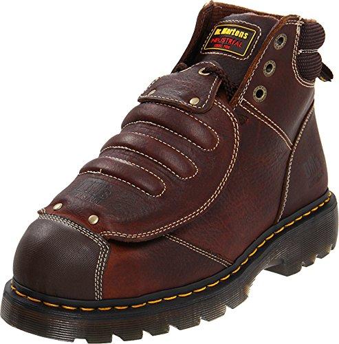 Met Guard Boot (Dr. Martens Men's Ironbridge MG ST Steel-Toe Met Guard Boot,Teak,10 UK/11 M US)