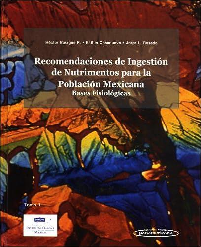 Recomendaciones Ingestion Nutrimentos (Spanish Edition) (Spanish) 1st Edition