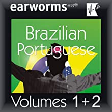 Rapid Brazilian (Portuguese): Volumes 1 & 2) Audiobook by  earworms Learning Narrated by Marlon Lodge