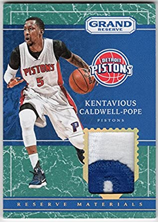 90a64fabbed ... sweden kentavious caldwell pope 2016 17 panini grand reserve 2 color  jersey patch serial 177b0 f8a3e