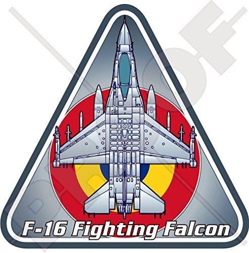 General Dynamics-Lockheed F-16 Fighting Falcon ROMANIA RoAF Romanian Air Force Aircraft 3,7