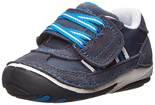 Stride Rite Soft Motion Hammett Sneaker (Infant/Toddler),Navy,3 W US - Stride Sneakers Lightweight Rite