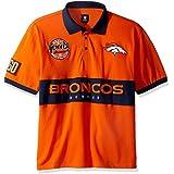 Klew NFL Wordmark Cotton Polo