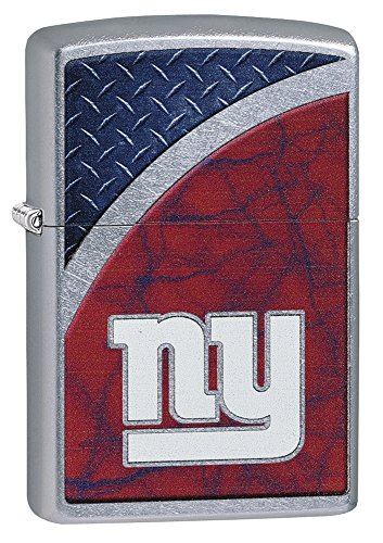 Zippo NFL New York Giants Street Chrome Pocket Lighter