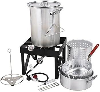 Turkey Backyard Pro 30 Qt. Deluxe Fryer Kit