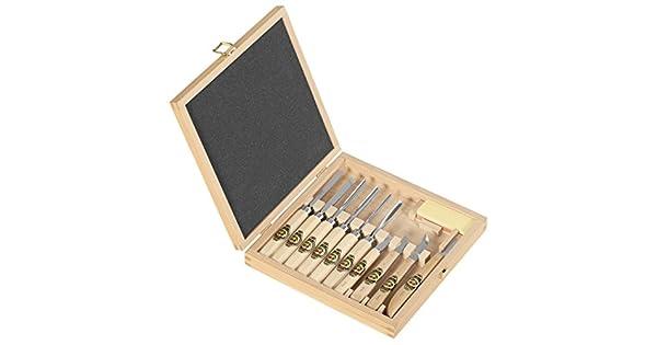 Amazon.com: Herramientas para tallar de 11 piezas en caja de ...