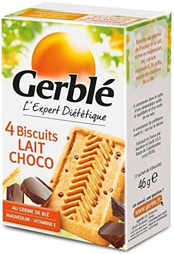 Bizcocho de Leche Y Chocolate Gerble 46 g: Amazon.es: Alimentación y bebidas