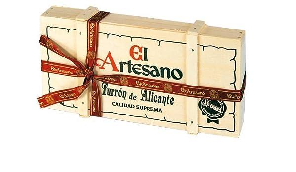 El Artesano Baúl de Turrón de Alicante - 300 gr: Amazon.es: Alimentación y bebidas