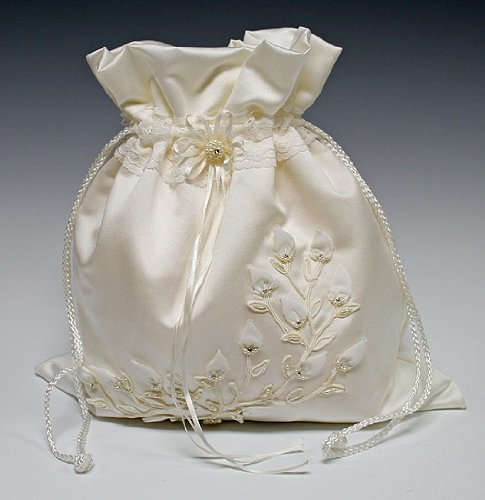 Timeless Bridal Gift Bag Purse Bridal Gift or Wedding Money Bag Purse for the Dollar Dance, Bags Central