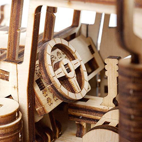 UGears Models 3-D Wooden Puzzle - Mechanical Heavy Boy Mac Truck VM-03