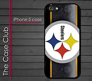 iPhone 5C (New Color Model) Rubber Silicone Case - Pittsburgh Steelers Football