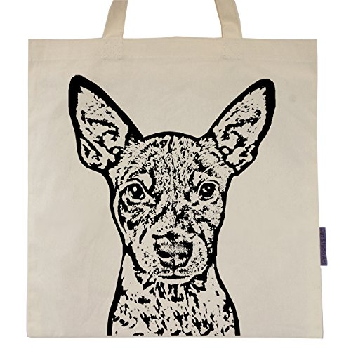 Rat Terrier named Beast Tote Bag