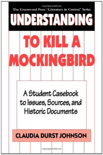 the historical and cultural context of to kill a mockingbird Of harper lee's to kill a mockingbird reflects on her coming-of-age experiences as a you will examine the historical and cultural context of the novel.