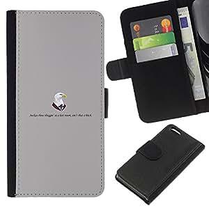 KLONGSHOP // Tirón de la caja Cartera de cuero con ranuras para tarjetas - Los médicos águila - Apple Iphone 5C //