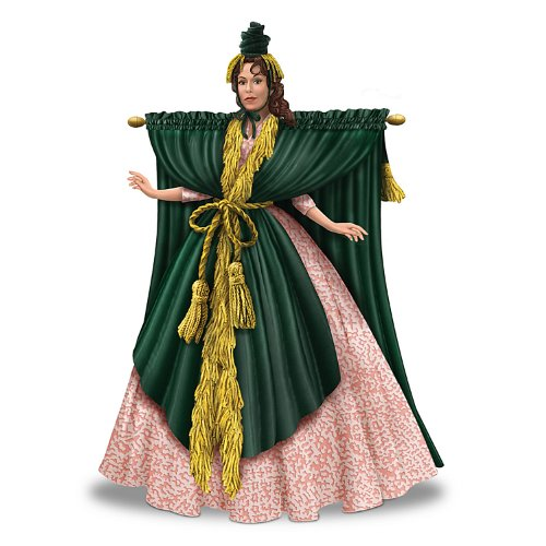 [Figurine: Carol Burnett Starlet Went With The Wind Figurine by The Hamilton Collection] (Costume Design Carol)