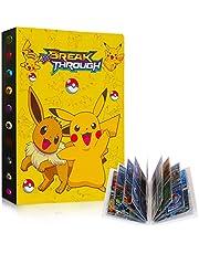 GUBOOM Pokemon verzamelalbum, Pokemon-kaartenhouder, Pokemon-ordner, boek, GX EX-kaarten, verzamelkaartenalbums, kaartenalbum, 30 pagina's, tot 240 kaarten