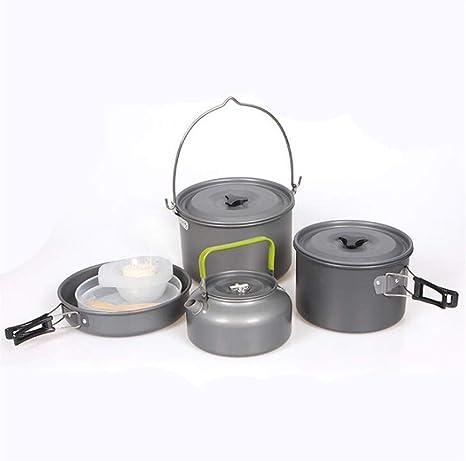 GYK Boutique Utensilios de Cocina de Camping,Juego de ollas ...
