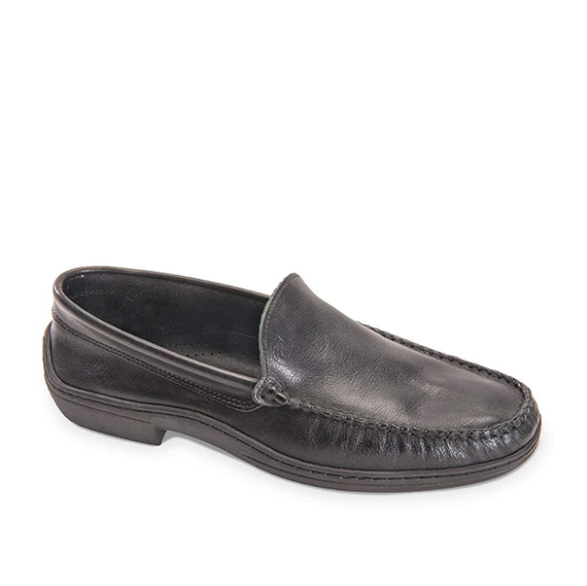 VALLEVERDE Scarpe Uomo Mocassini in Pelle nera 11822-NERO  Amazon.co.uk   Shoes   Bags 208e92a9a1f