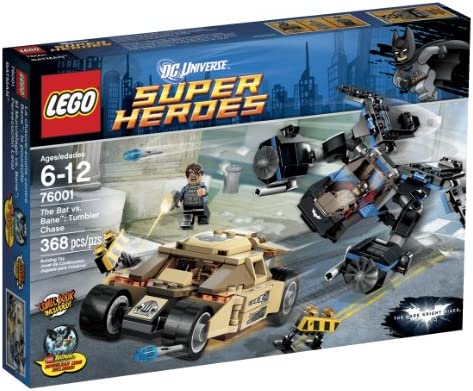 Batman Minifigure from 76001 LEGO® Super Heroes