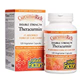 Natural Factors CurcuminRich Double Strength Theracurmin, 120 Capsules