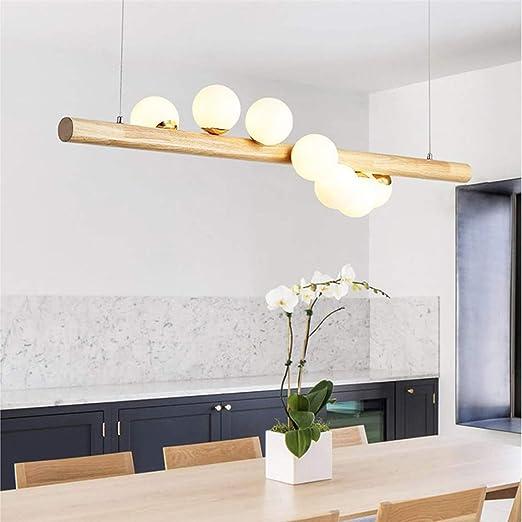 DRHYSFSA Lámpara del Techo Lámpara de luz rústica Moderna Cocina ...