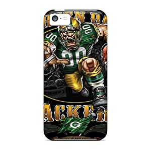New Snap-on JessieHValdez Skin Case Cover Compatible With Iphone 5c- Green Bay Packers