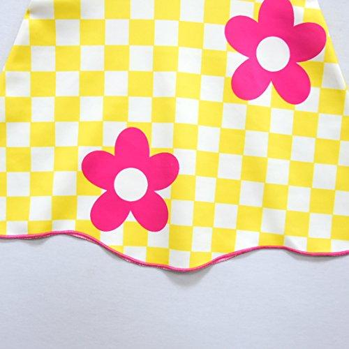 Girls red yellow Dress Flower Baby Kids Cute Sundress Dolls Fancy Thombase PnHvqH