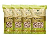 Nichols Farms California Pistachios Roasted Salted, Organic with Sea Salt, 32-ounce bag (Pack of 4)